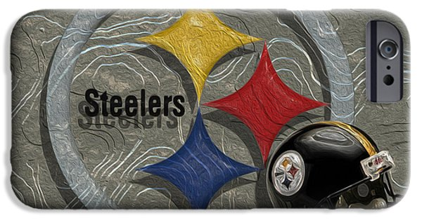 Heinz Field iPhone Cases - Pittsburgh Steelers iPhone Case by Jack Zulli