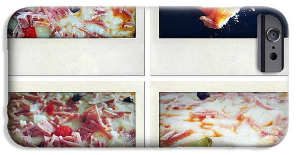 Snack iPhone Cases - Pizza iPhone Case by Les Cunliffe