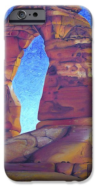 Moab iPhone Cases - Place of Power iPhone Case by Joshua Morton