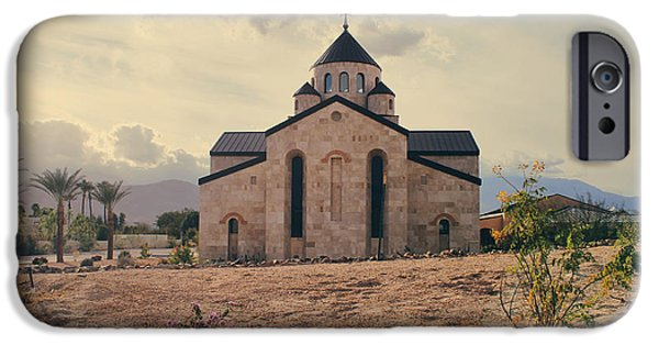 Stone Buildings iPhone Cases - Place of Worship iPhone Case by Laurie Search