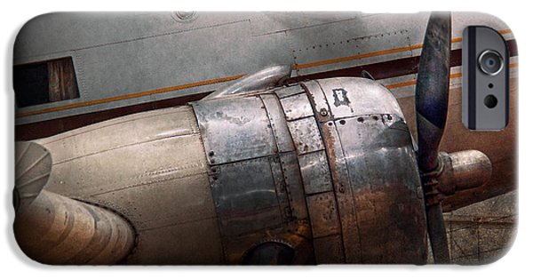 Rust Photographs iPhone Cases - Plane - A little rough around the edges iPhone Case by Mike Savad
