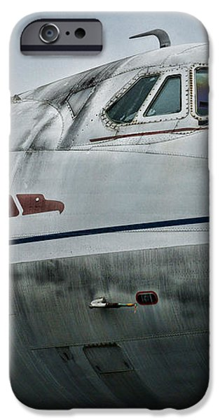 Plane Capital Airlines iPhone Case by Paul Ward