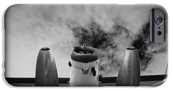 Aero iPhone Cases - Plane iPhone Case by Darren Greenwood