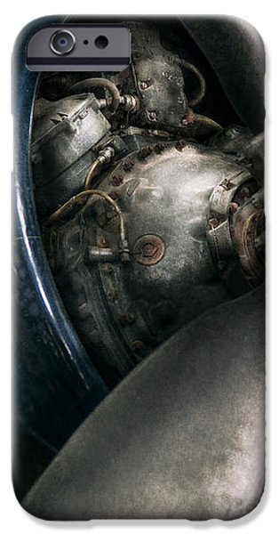 Plane - Pilot - Prop - You are clear to go iPhone Case by Mike Savad