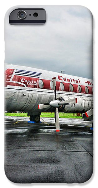 Plane Props on Capital Airlines iPhone Case by Paul Ward