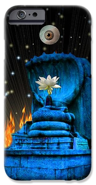 Planet of Shiva  iPhone Case by Jason Saunders