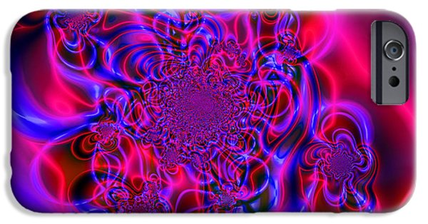 Abstract Digital iPhone Cases - Plasma Dream iPhone Case by Ian Mitchell