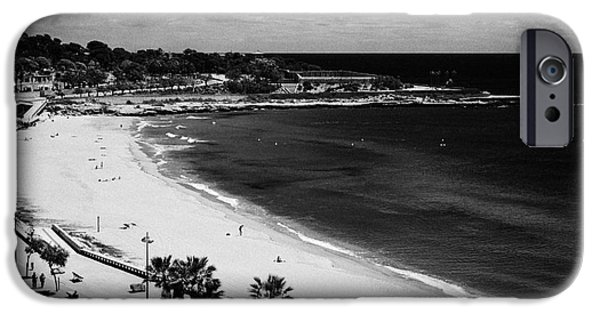 Miracle iPhone Cases - Platja Del Miracle Beach Tarragona Catalonia Spain iPhone Case by Joe Fox