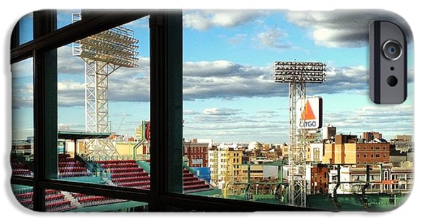 Fenway Park iPhone Cases - Play Ball iPhone Case by Amy Baker