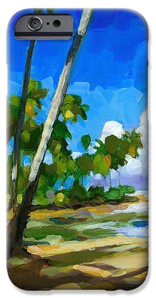 Playa Bonita iPhone Case by Douglas Simonson