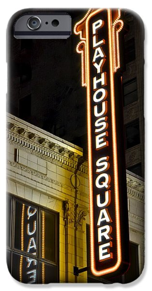 Ball Gown Photographs iPhone Cases - Playhouse Square iPhone Case by Frozen in Time Fine Art Photography