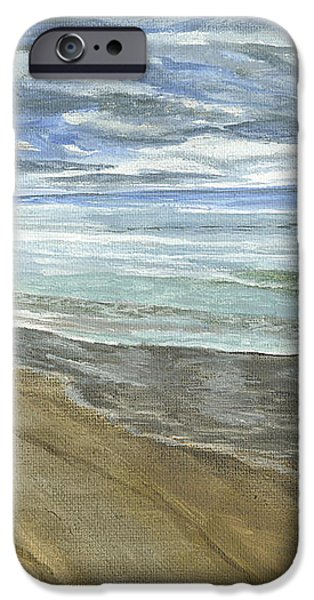 Playing on the Oregon Coast iPhone Case by Ian Donley