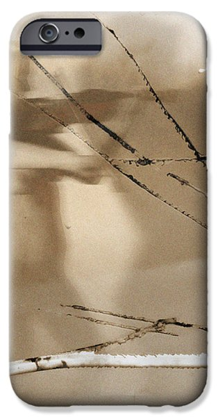Playing to her shadow  iPhone Case by Steven  Digman