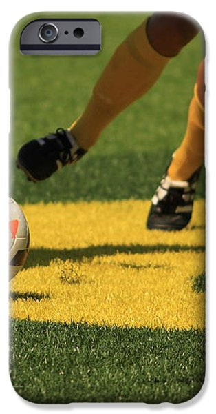 Plays on the Ball iPhone Case by Laddie Halupa