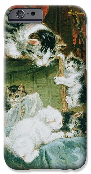 Playtime iPhone Case by Henriette Ronner-Knip