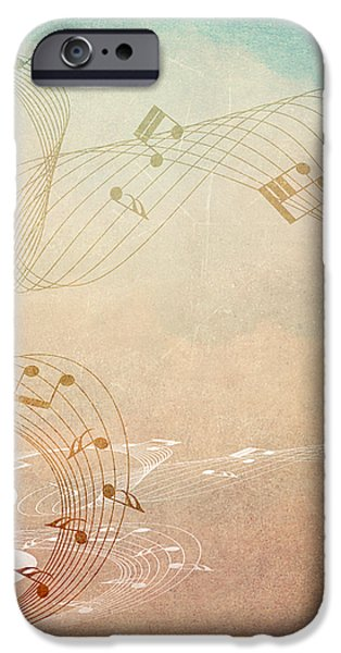 Please Dont Stop The Music iPhone Case by Angelina Vick