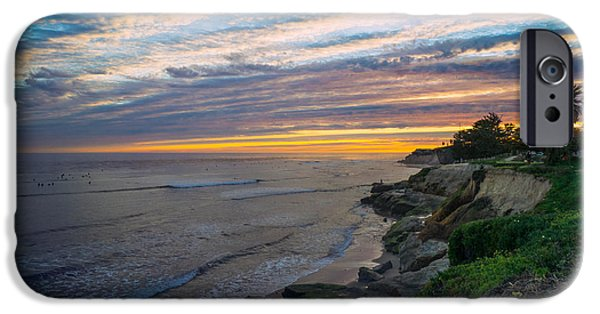 Recently Sold -  - Pleasure iPhone Cases - Pleasure Point Sky iPhone Case by Diana Weir