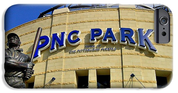 Pennsylvania Baseball Parks iPhone Cases - PNC Park Baseball Stadium Pittsburgh Pennsylvania iPhone Case by Amy Cicconi