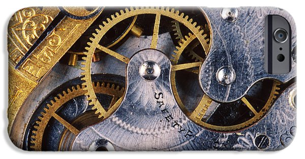 Mechanism iPhone Cases - Pocket Watch iPhone Case by Gregory G. Dimijian