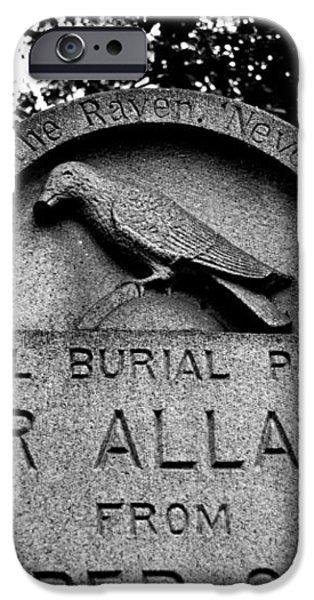 Poe's Original Burial Place iPhone Case by Jennifer Lyon