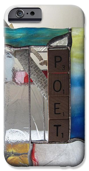 Poet Windowsill Box iPhone Case by Karin Thue