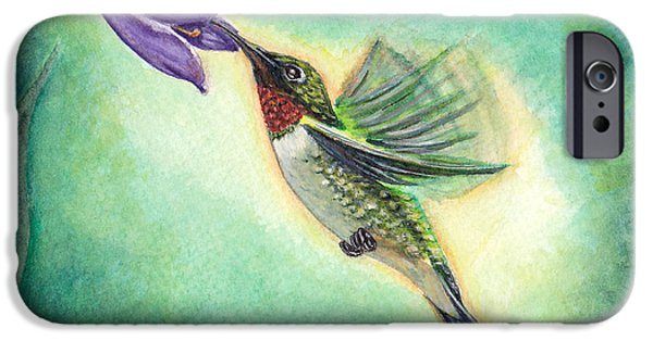 Small iPhone Cases - Poetry in Motion iPhone Case by Heather Stinnett