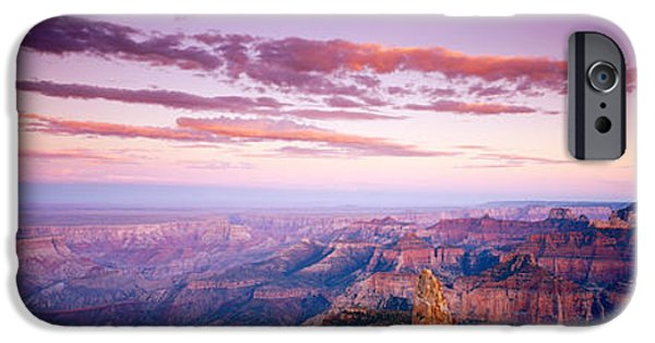 Grand Canyon iPhone Cases - Point Imperial At Sunset, Grand Canyon iPhone Case by Panoramic Images