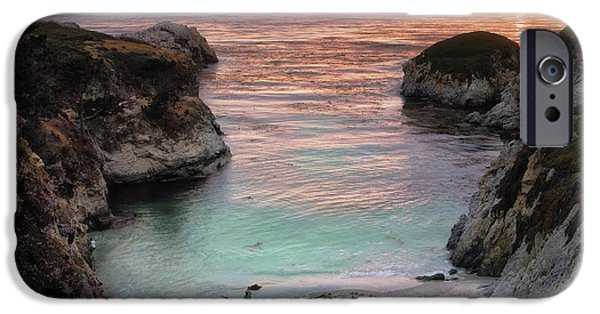 Big Sur Ca iPhone Cases - Point Lobos State Reserve 2 iPhone Case by Emmanuel Panagiotakis