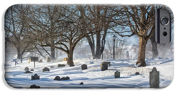Prescott iPhone Cases - Point Of Graves Burial Grounds iPhone Case by Scott Thorp