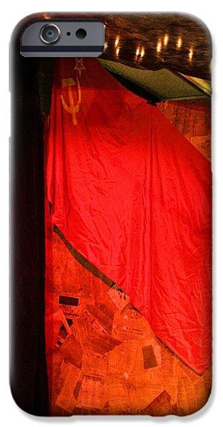 Flag iPhone Cases - Point Of No Return iPhone Case by Viktor Savchenko