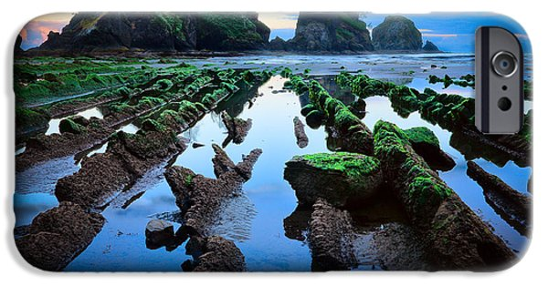 North Sea iPhone Cases - Point of the Arches iPhone Case by Inge Johnsson