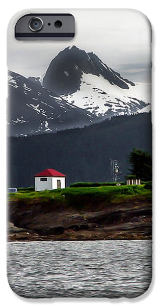 Point Retreat iPhone Case by Robert Bales