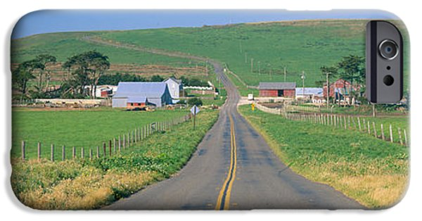 Agricultural iPhone Cases - Point Reyes National Seashore iPhone Case by Panoramic Images