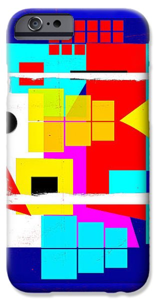Points of Eternity iPhone Case by Francine Collier