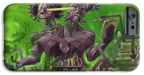 Recently Sold -  - Strange iPhone Cases - Poison iPhone Case by Augustinas Raginskis