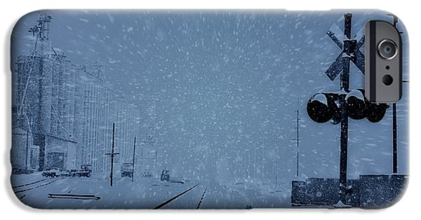 Christmas Eve iPhone Cases - Polar Express iPhone Case by Dan Sproul