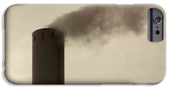 Waste iPhone Cases - Pollution iPhone Case by Wim Lanclus