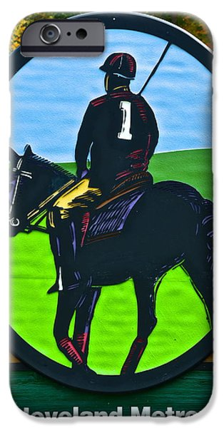 Horse Bit iPhone Cases - Polo Anyone iPhone Case by Frozen in Time Fine Art Photography