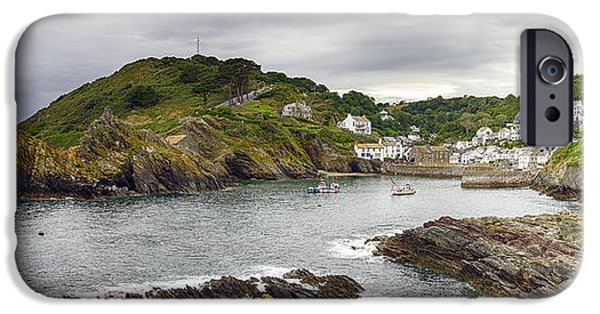 Historic England iPhone Cases - Polperro iPhone Case by Helen Hotson