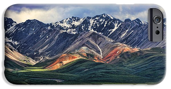 Mountains iPhone Cases - Polychrome iPhone Case by Heather Applegate