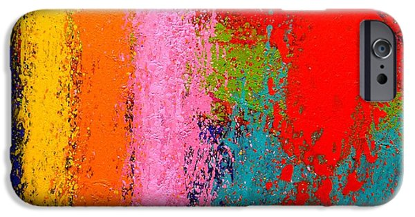 Abstract Expressionism iPhone Cases - Polyphony III iPhone Case by John  Nolan