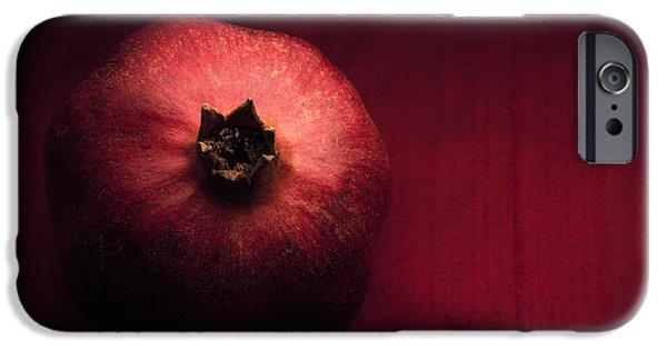 Pomegranate iPhone Cases - Pomegranate iPhone Case by Ana V  Ramirez