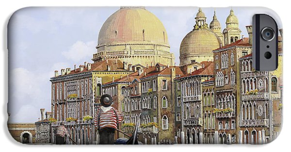 Dating iPhone Cases - Pomeriggio A Venezia iPhone Case by Guido Borelli