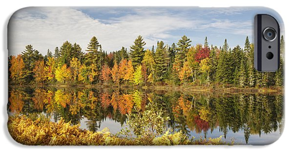 Androscoggin iPhone Cases - Pontook Reservoir - Dummer New Hampshire iPhone Case by Erin Paul Donovan
