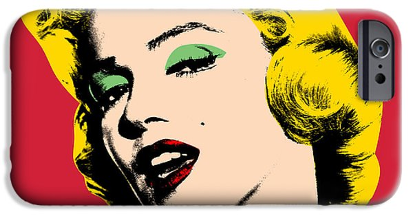 Warhol iPhone Cases - Pop Art iPhone Case by Mark Ashkenazi