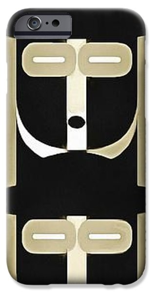 Warhol iPhone Cases - Pop Art People Totem 5 iPhone Case by Edward Fielding