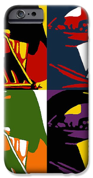 Pop Art Vader iPhone Case by Dale Loos Jr