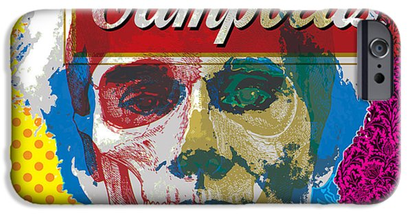 Modern Abstract iPhone Cases - POP Warhol iPhone Case by Gary Grayson