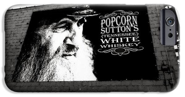 Sutton iPhone Cases - Popcorn Suttons Tennessee White Whiskey iPhone Case by Dan Sproul