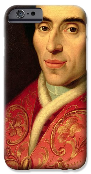 Pope iPhone Cases - Pope Pius VII iPhone Case by Anonymous